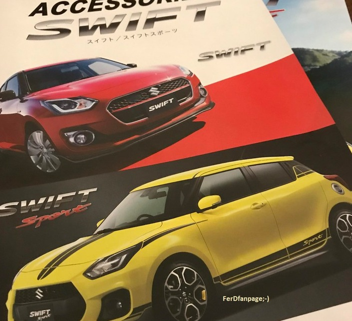 Suzuki : la nouvelle Swift Sport en montre un peu plus
