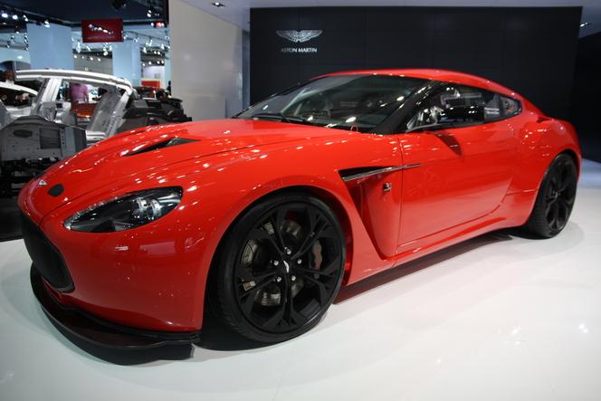 En direct de Francfort - video : Aston Martin V12 Zagato, bientôt sur route ouverte