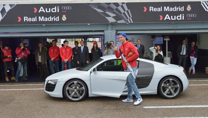 Les joueurs du Real Madrid ont reçu leurs nouvelles Audi