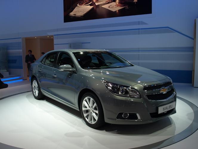 Francfort 2011 - video : Chevrolet Malibu : alerte, elle débarque
