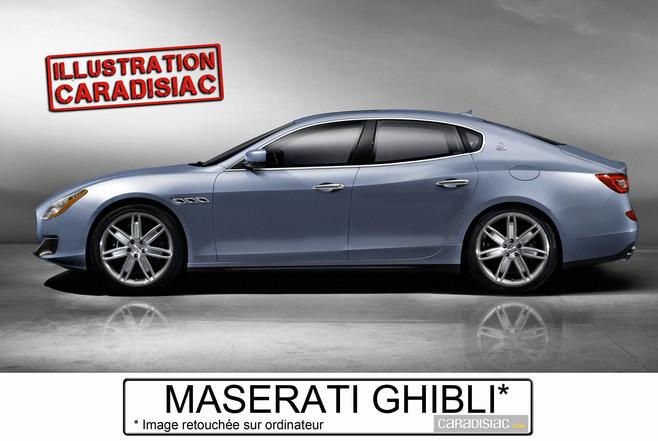 Chez Maserati, la Ghibli se prépare