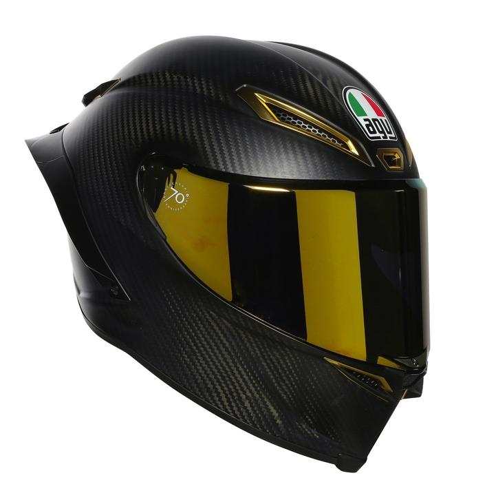 Dainese/ AGV: Anniversario Collector, côté casque, côté blouson
