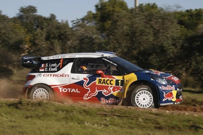 WRC Catalogne : Loeb ne leur aura laissé que des miettes