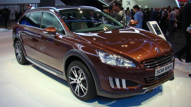 Francfort 2011 - Video : Peugeot 508 RXH, le nouveau haut de gamme du Lion