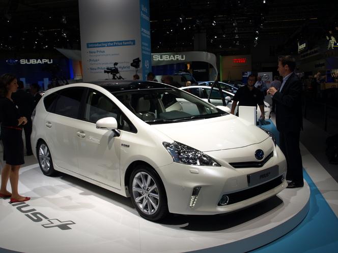 Vidéo en direct de Francfort 2011 - Toyota Prius : la famille s'agrandit