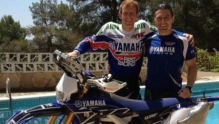 David Frétigné au rallye de Sardaigne de nouveau sur une Yamaha