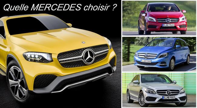 Quelle Mercedes choisir ?
