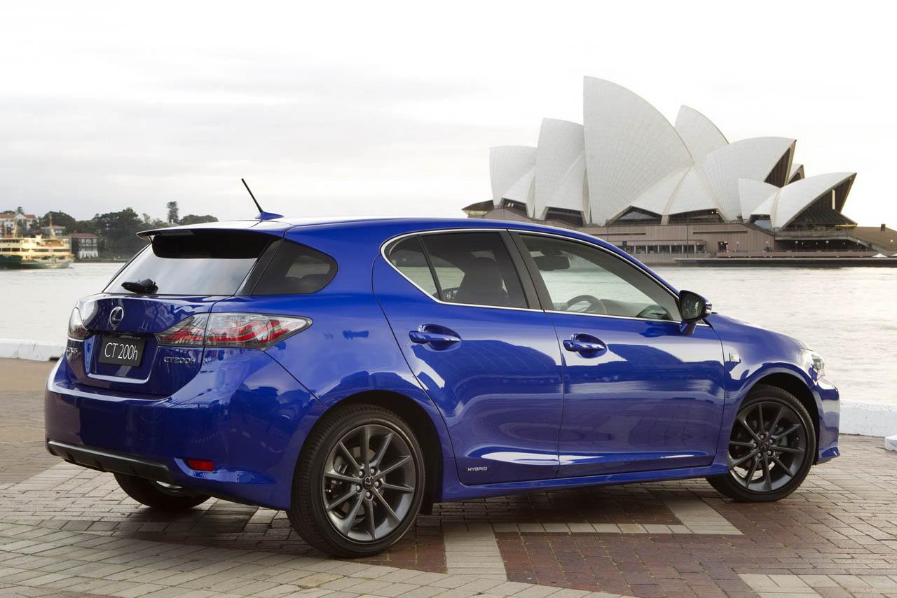 Lexus ct 200h f sport avis