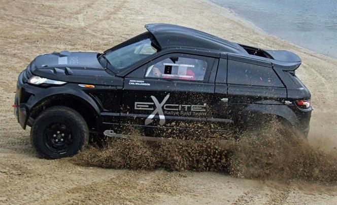 Range Rover Evoque Desert Warrior 3: un Evoque pour le rallye-raid