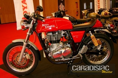 En direct du Salon de la moto: Royal Enfield.