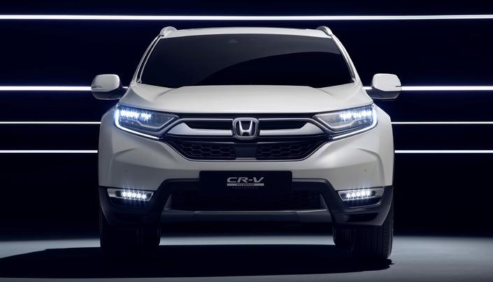Salon de Francfort 2017 - Honda CR-V Hybride Prototype: faux départ