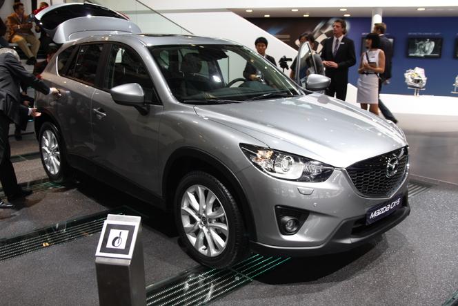 En direct de Francfort- video : Mazda CX-5, le renouveau