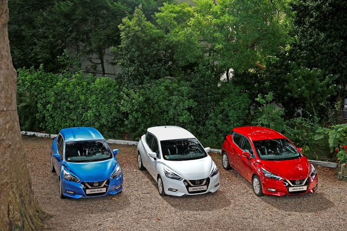 """Nissan lance une série spéciale Micra """"Made in France"""""""