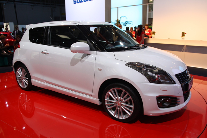 En direct de Francfort : Suzuki Swift Sport, le retour du triple S