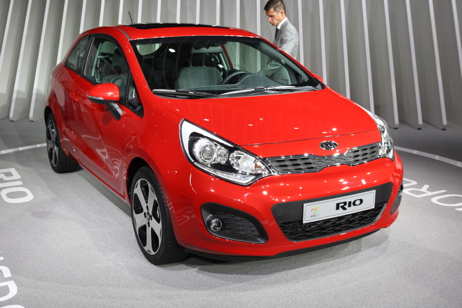 En direct de Francfort- video : Kia Rio, un diesel à 85g/km de CO2 annoncé