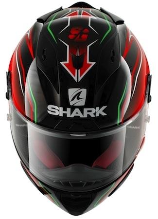 Shark replica pilote: une déco Sylvain Guintoli sur les Race-R Pro et S700-S