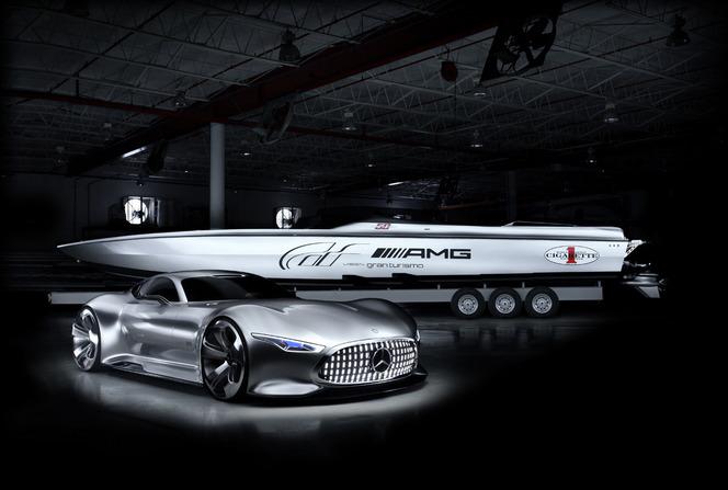 Mercedes dévoile un nouveau bateau de course en association avec Cigarette Racing