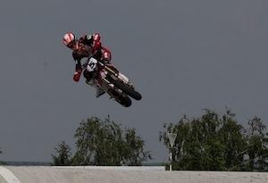 Supermotard championnat du monde 2012, Pleven: 3 questions à Adrien Chareyre