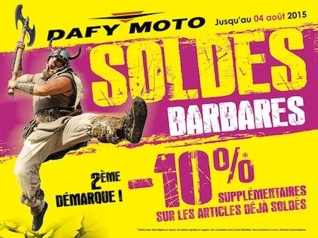 Des soldes chez Dafy-Moto façon... barbares