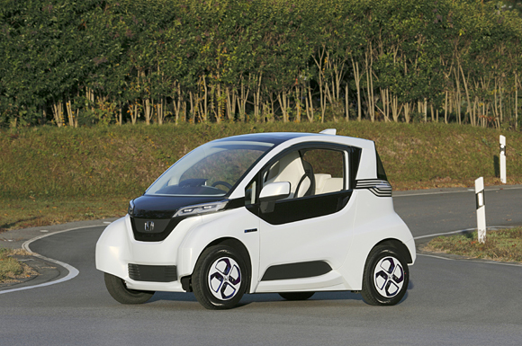 Prototype Micro Commuter, le futur Twizy de Honda
