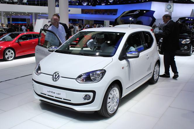 Vidéo - En direct du salon de Francfort 2011 : Volkswagen Up : petite puce !