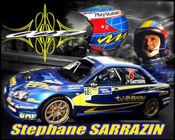 WRC: Sarrazin à pied