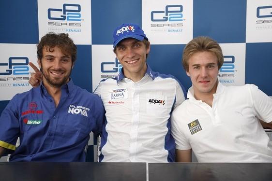 GP2 Turquie Course 1 : Petrov recolle à Grosjean