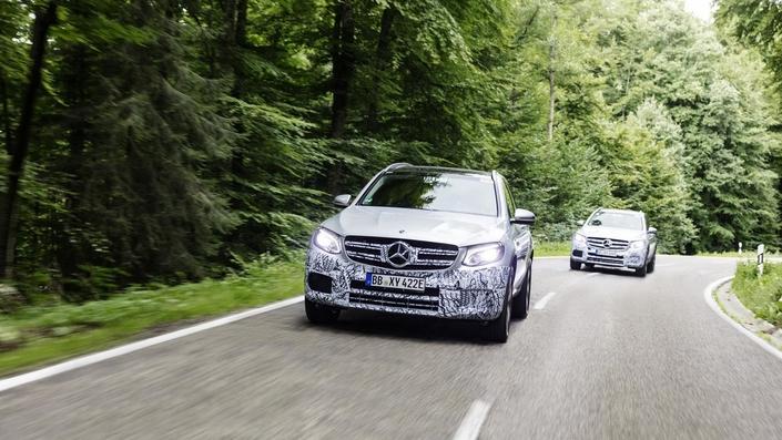 Salon de Francfort 2017 : Mercedes nous annonce le GLC hydrogène