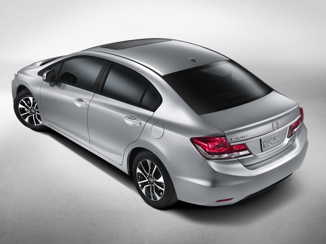 Honda USA restyle sa Civic après 18 mois de vie !