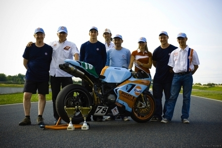 Bol d'Or 2009 : Ducati Chambourcy et Brooklands Motors au départ avec la 848 #78