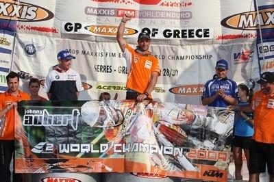 Metzeler champion du monde E2 2009.