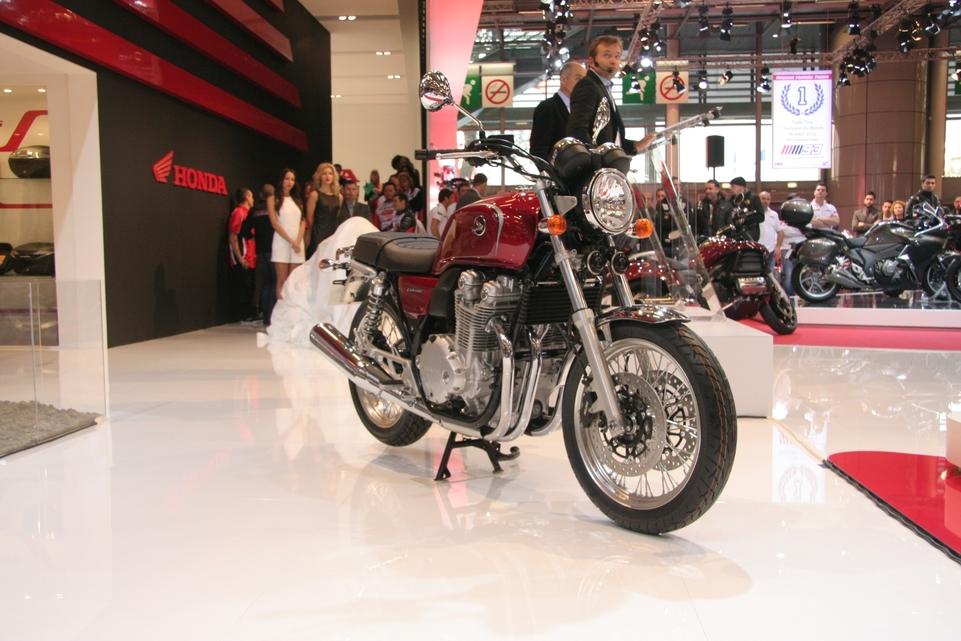 En direct du salon de la moto : Honda CB 1100 EX