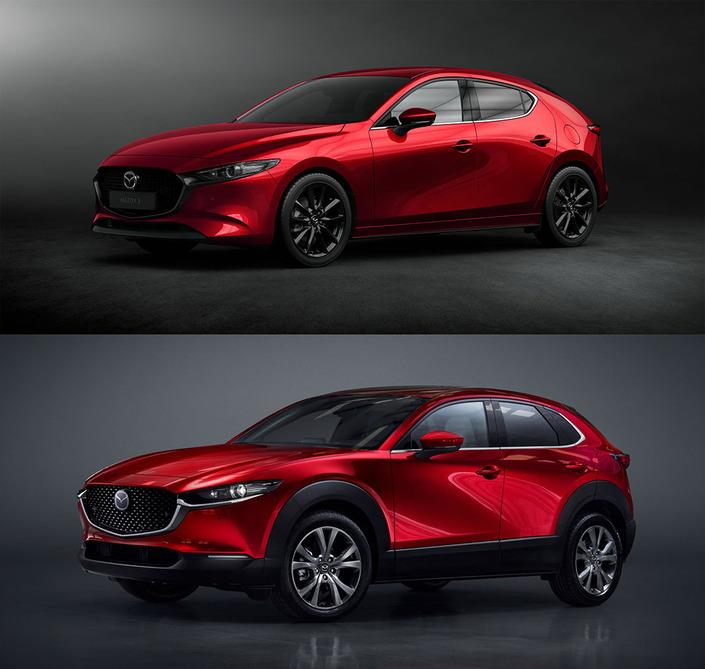 Mazda apporte quelques changements aux Mazda3 et CX-30