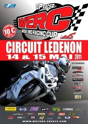 WERC, Challenge des monos et Challenge Protwin ce week-end à Lédenon.