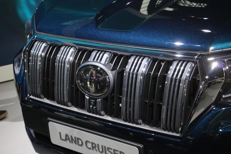 Toyota Land Cruiser : l'immuable - Vidéo en direct du salon de Francfort 2017