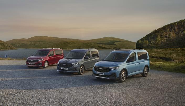 Nouveau Ford Tourneo Connect: un Volkswagen Caddy rebadgé