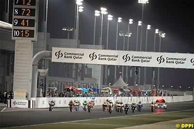 Moto GP - Courses nocturnes 2009: Qatar plus tard et la Malaisie de nuit ?