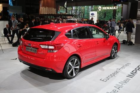 Subaru Impreza : prometteuse - Vidéo en direct du salon de Francfort 2017