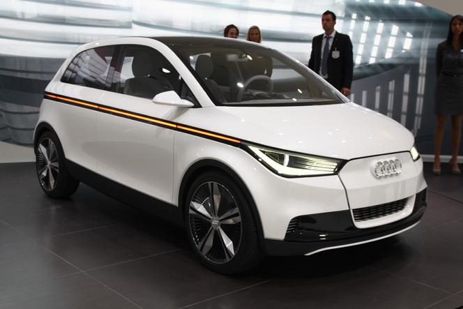 En direct de Francfort : Audi A2 Concept, mélange d'A1 et d'Up !
