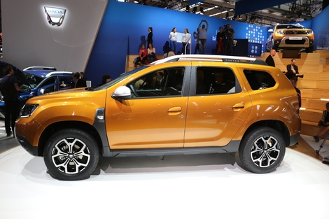 Dacia Duster 2 : le blockduster - Vidéo en direct du Salon de Francfort 2017