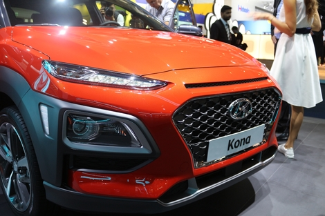 Hyundai Kona : l'original - Vidéo en direct du salon de Francfort 2017