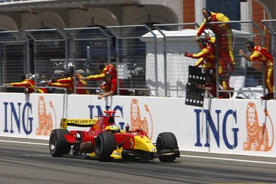 GP2 Turquie Course 2 : Di Grassi logiquement, Petrov nouveau leader