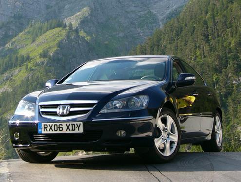 Essai - Honda Legend :  service compris