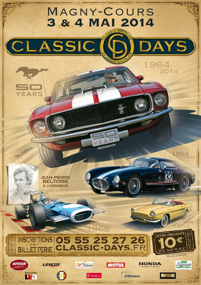 Classic Days 2014 : la Ford Mustang fête ses 50 ans