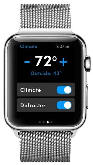 L'application Volkswagen Car-Net débarque sur l'Apple Watch