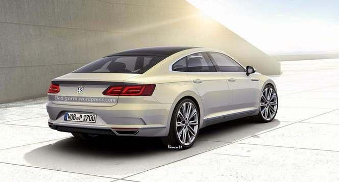 Future Volkswagen CC : comme ça ?