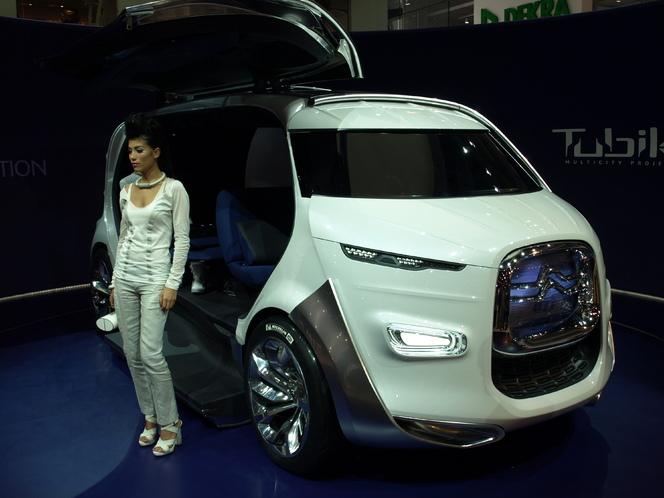 Salon de Francfort 2011 : Citroën Tubik concept : le shuttle du futur