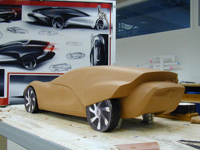 L'étudiant Marc Kirsch : son concept-car électrique Volkswagen Viseo ? Etonnant !