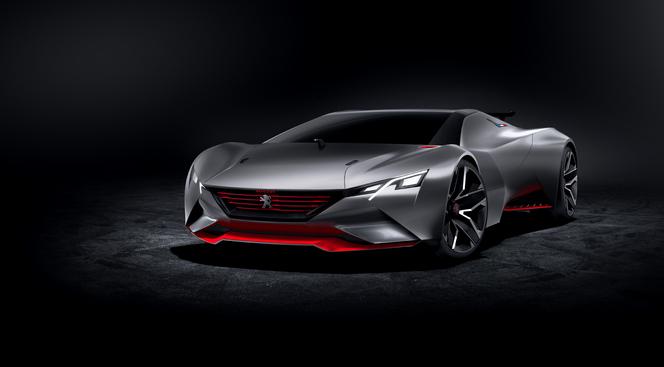 Peugeot Vision Gran Turismo : 875 ch pour 875 kg