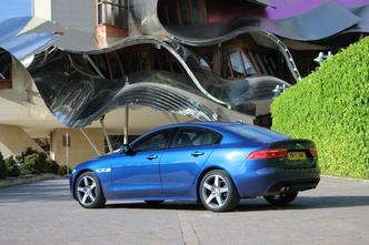 Jaguar XE : en avant-première, les photos de l'essai